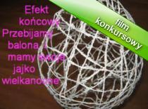 Jak zrobić jajko wielkanocne ze sznurków