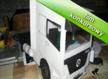 Jak zrobić model ciężarówki Mercedes Actros