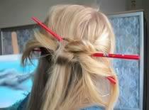 Jak upinać włosy pałeczkami