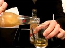 Jak zrobić sztuczkę z zamrożonym piwem