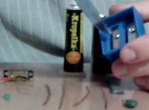 Jak zrobić latarkę z temperówki