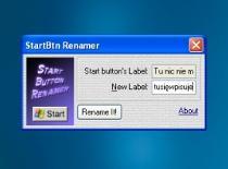 Jak w szybki sposób zmienić napis start