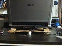 Jak zrobić podstawkę chłodzącą pod laptopa