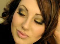 Jak zrobić makijaż w złotych i brązowych odcieniach