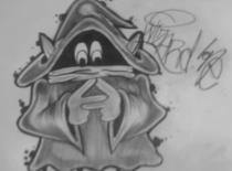 Jak narysować orka w stylu graffiti