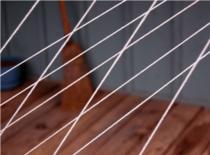 Jak skrócić kabel za pomocą zawleczki z puszki
