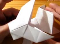 Jak zrobić pieska origami