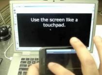 Jak zmienić telefon z androidem w myszkę komputerową