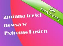 Jak zmienić treść newsa w Extreme Fusion
