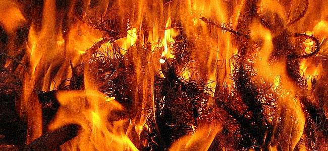 Jak rozpalić ogień używając waty stalowej