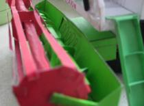 Jak zrobić papierowy model Claas Lexion 480