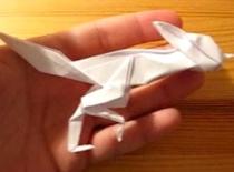 Jak zrobić ptaka z papieru - Kukawka Srokata