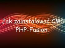 Jak zainstalować CMS PHP-Fusion