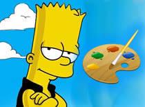 Jak narysować Barta Simpsonsa w Paint