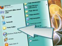 Jak wstawiać foldery i dyski do menu start