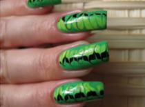 Jak pomalować paznokcie - artystyczne szlaczki