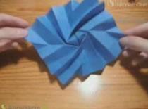 Jak zrobic skręcany bajer origami