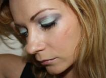 Jak zrobić makijaż miętowo - grafitowy