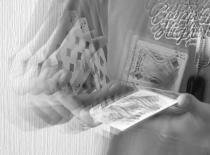 Jak potasować (poprzekładać ) fałszywie karty