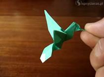 Jak złożyć kolibra origami