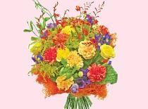 Jak zrobić bukiet z kwiatów ogrodowych