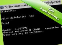 Jak programować w C++ #2 - Kalkulator po polsku