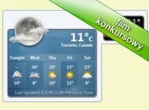 Jak sprawdzić prognozę pogody w Windows 7