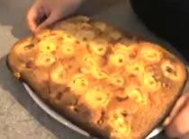 Jak zrobić ciasto wiśniowo bananowe