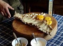 Jak zrobić żeberka sosie chrzanowym #1