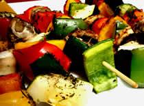 Jak zrobić szaszłyki wegetariańskie