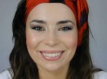 Jak zrobić makijaż pomarańczowo bakłażanowy