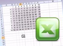 Jak zrobić tabliczkę mnożenia w Excelu