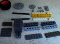Jak zrobić wyrzutnię bączka z klocków Lego - wersja II