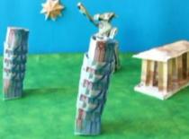 Jak zrobić Krzywą Wieżę w Pizie z banknotów
