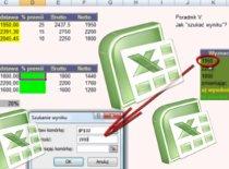 Jak szukać wyniku przy obliczeniach w Excelu