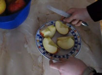 Jak zrobić jabłka na ciepło
