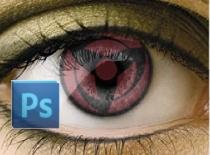 Jak zrobić realistycznego Sharingana w Photoshop CS3