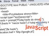 Jak zabezpieczyć stronę hasłem (Javascript)