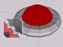 Jak zrobić latający spodek  Wings 3D