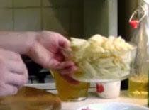 Jak zrobić penne z sosem pieczarkowym i indykiem #1