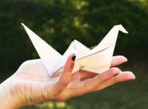"""Jak zrobić ptaka """"w locie"""" z papieru"""