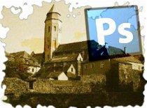 Jak zrobić efekt starej fotografii w Photoshop CS3 #3