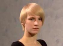 Jak wykonać krótką fryzurę dla blondynki