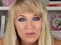 Jak zrobić makijaż Smoky eye szary z granatem