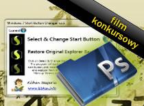 Jak zrobić własny przycisk Start w Photoshopie