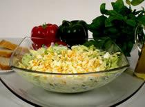 Jak zrobić zieloną sałatkę
