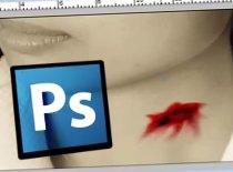 Jak zrobić realistyczną krew w Photoshopie