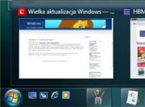 Jak zmienić pasek zadań w Windows 7 na pasek z Visty
