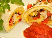 Jak zrobić meksykańską tortillę z kurczakiem