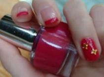 Jak pomalować paznokcie - Malinowa Vipera & LV